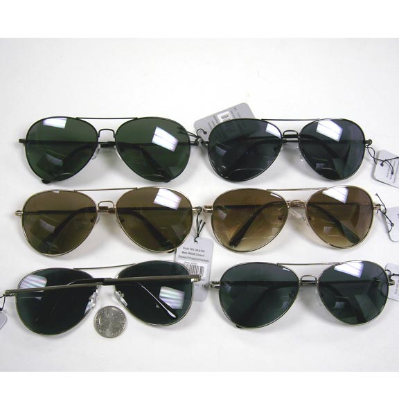 AVIATOR SPRING TEMPLE QUALITY CLASSIC SUNGLASSES