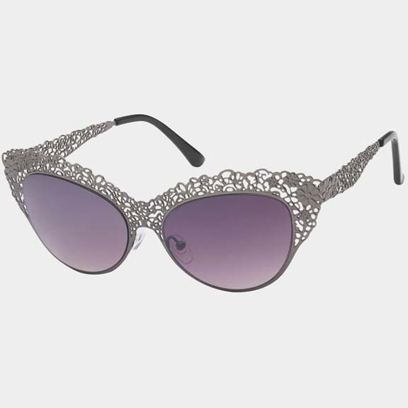 METAL DESIGN FRAMES WITH SMALL FLOWERS, SUNGLASSES, NICE