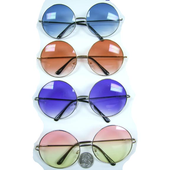 JANIS STYLE SUNGLASSES WITH OCEAN LENS, SPRING TEMPLE QUALITY