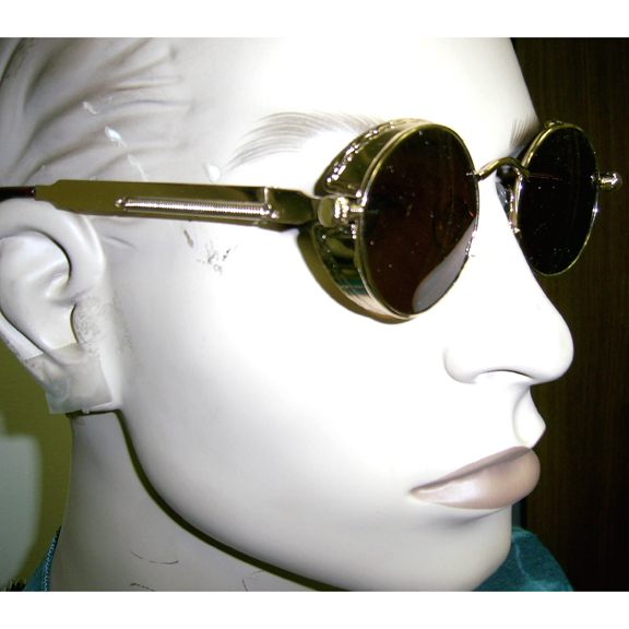 STEAMPUNK FASHION BRIGHT FRAMES SUNGLASSES GREAT SELLER