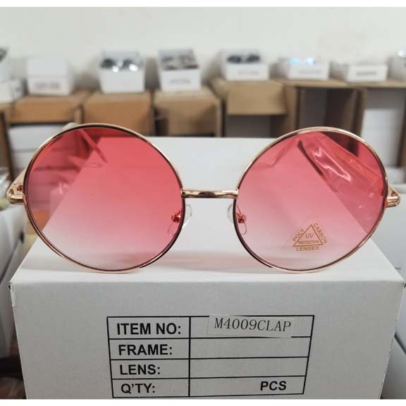 JANIS SIZE SUNGLASSES, COLOR LENS THAT FADE LIGHTER