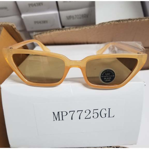 COOL SHAPE MOD LOOKING SUNGLASSES