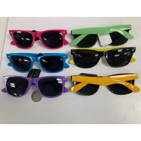 BLUES BROTHER STYLE SUNGLASSES, COLOR