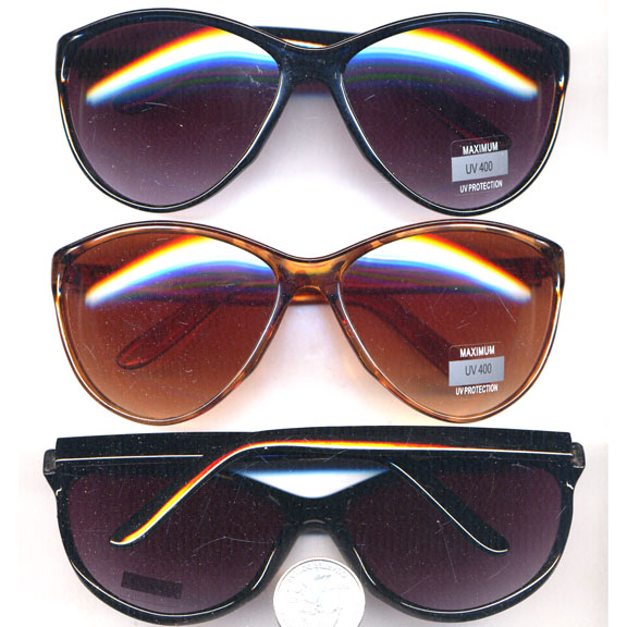 LADIES COOL SUNGLASSES, GREAT BASIC SHAPE