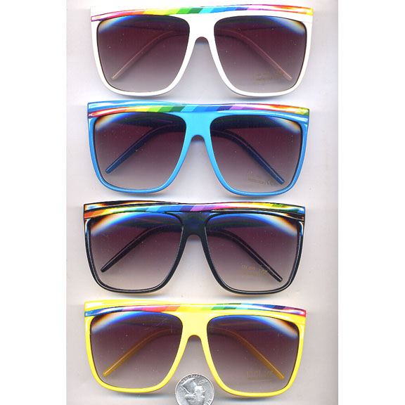 RAINBOW LINE GREAT  SUNGLASSES
