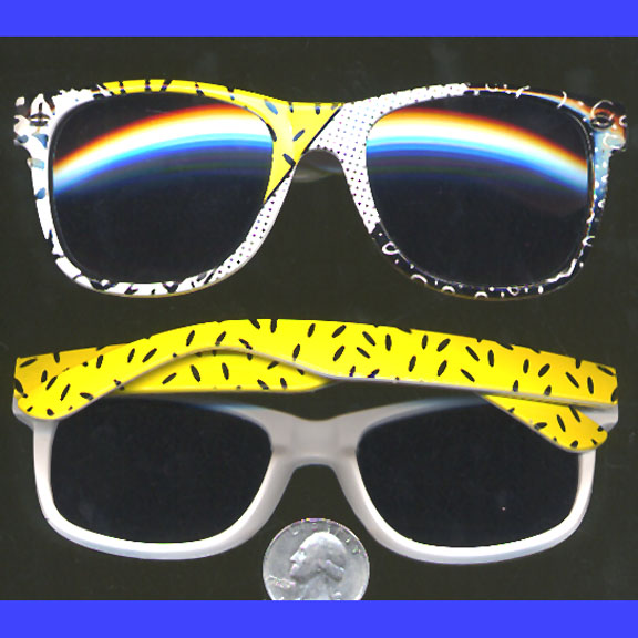 80'S PARTY BLUES BROTHERS funky LOOK SUNGLASSES