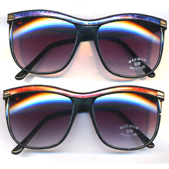 LADIES COLOR TOP SUNGLASSES