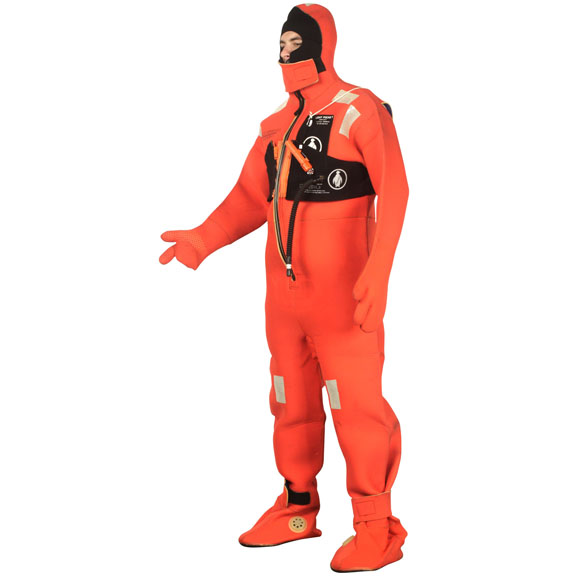 U.S.C.G. APPROVED EXPOSURE SUITS PRICED BY THE PIECE