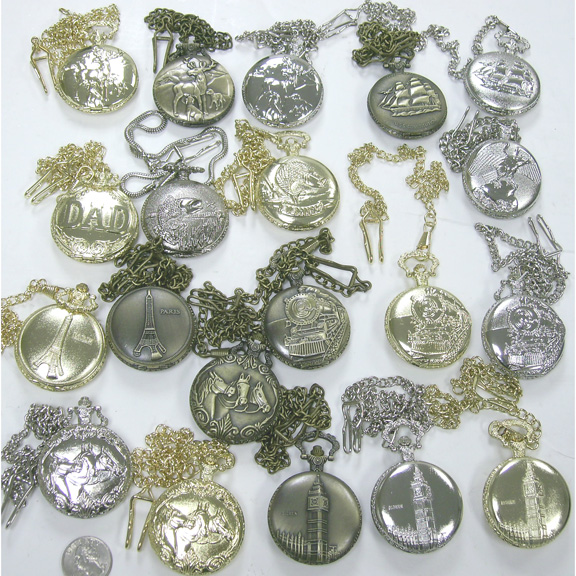 POCKET WATCHES,DIFFERENT COLORS AND DESIGNS