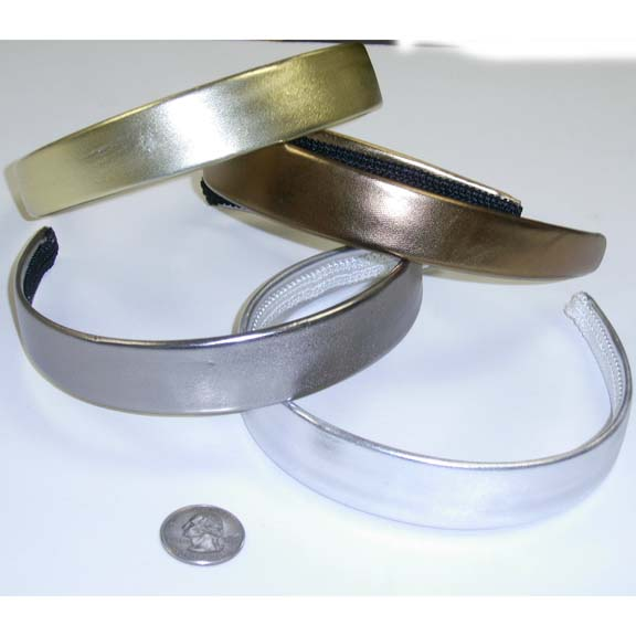METALLIC THIN HEAD BAND    ONLY 2 DZ IN STOCK