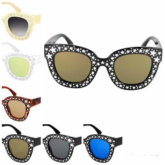 STARS GEMS FUNKY HIGH QUALITY SUNGLASSES