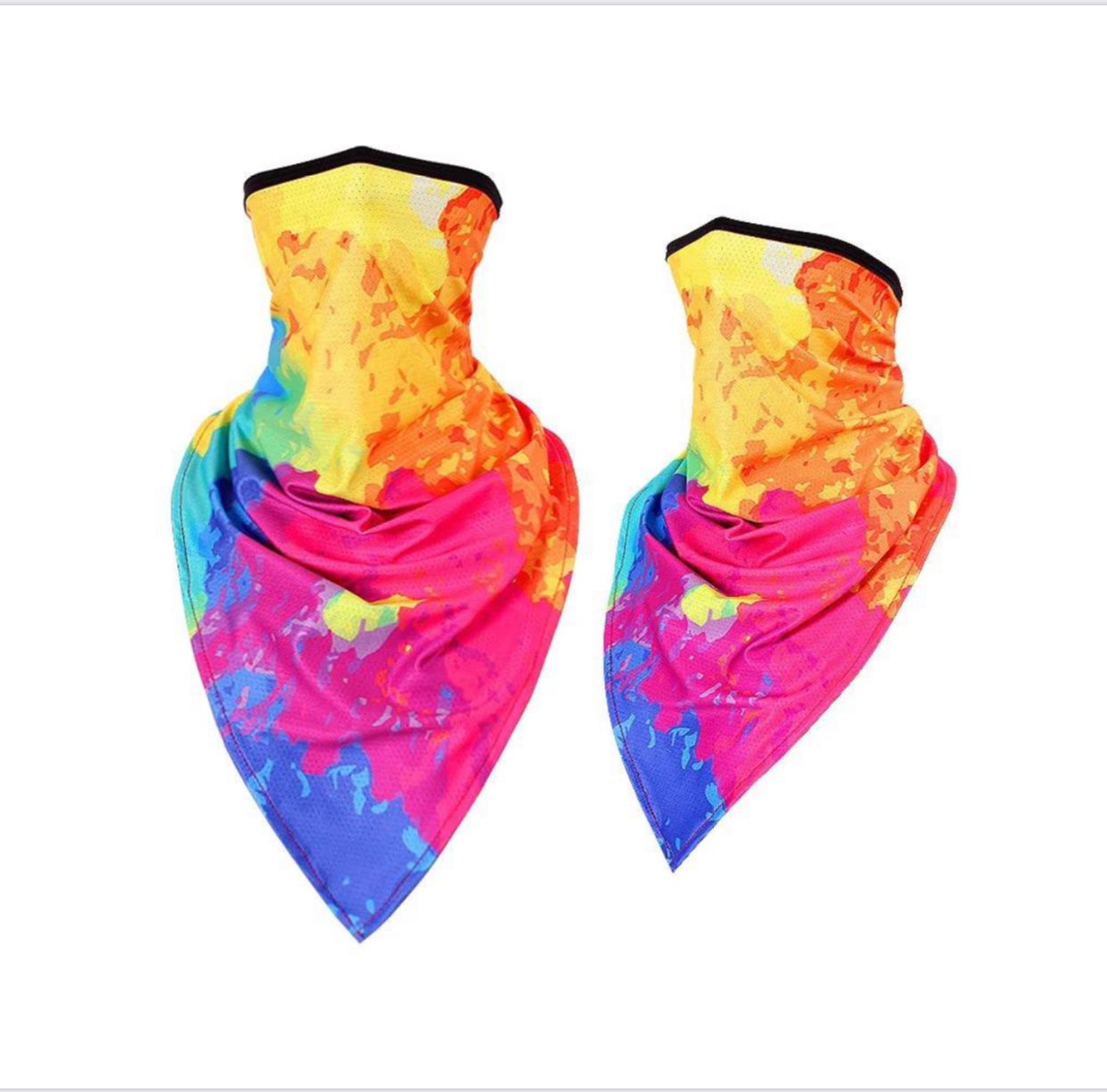NECK GAITORS, VERY GOOD QUALITY, TYE DYE ZONES