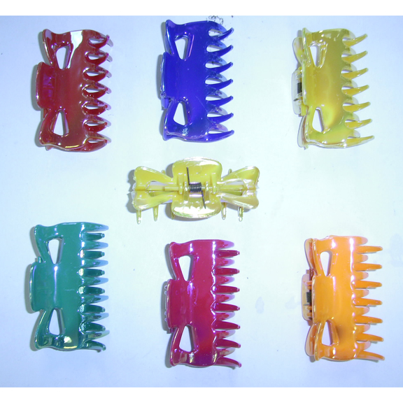 BRIGHT IRIDECENT MEDIUM SIZE HAIR CLIP