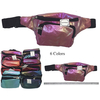 IRIDESCENT GLITTER EFFECT FANNY PACKS IN MANY COLORS