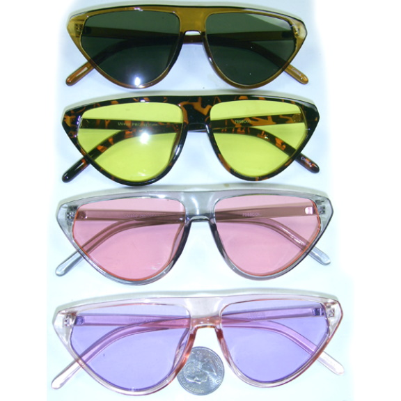 COOL COLORS, COOL SHAPE SUNGLASSES