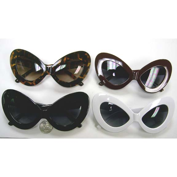 LARGE COSTUMISH CAT SHAPE SUNGLASSES