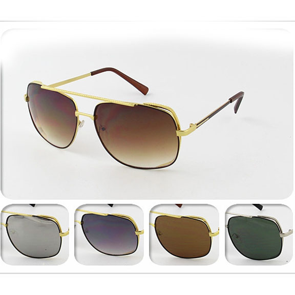 METAL FRAMES COOL MENS STYLE SUNGLASSES