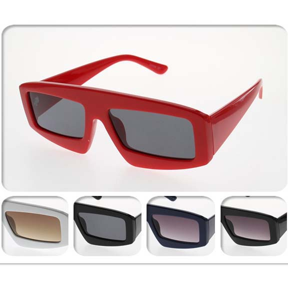 SMALL FRAMES RETRO FUNKY UNISEX FASHION SUNGLASSES
