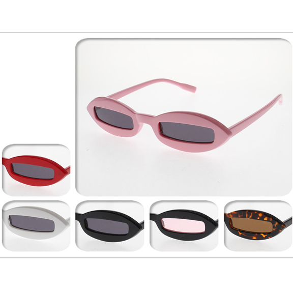 THIN FUNKY ASSORTED COLOR SUNGLASSES