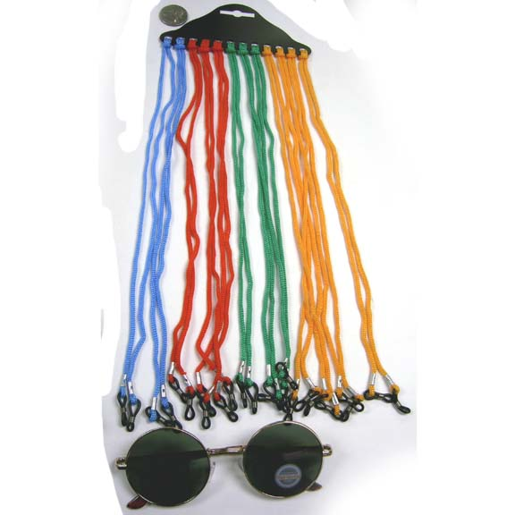 SUNGLASS CORDS IN ASSORTED COLORS