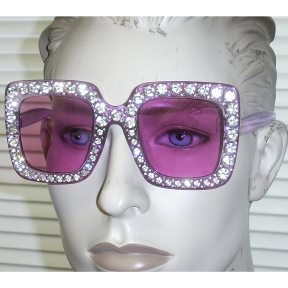 LARGE VERY COLORFUL FRAMES WITH GEM STONES