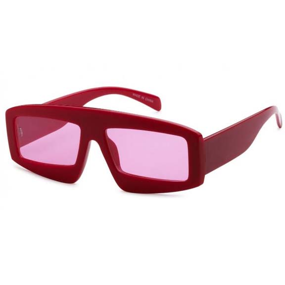 FUNKY, COOL HIP RETRO SHAPE SUNGLASSES