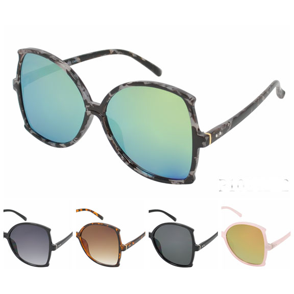 LARGE FRAMES COOL COLORS AND COOL LENSES SUNGLASSES