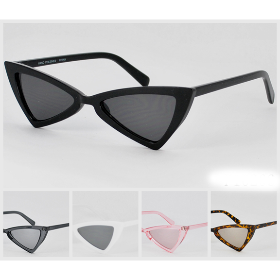 FUNKY SMALL FRAMES SUNGLASSES, ASSORTED COLORS